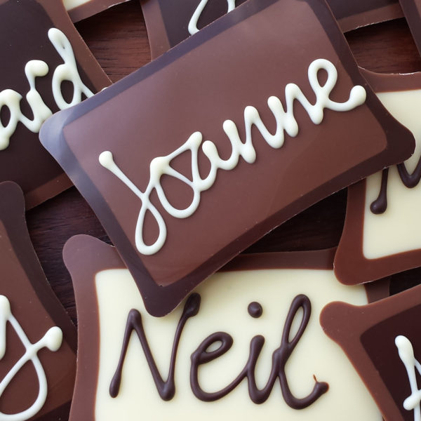 Milk chocolate placename