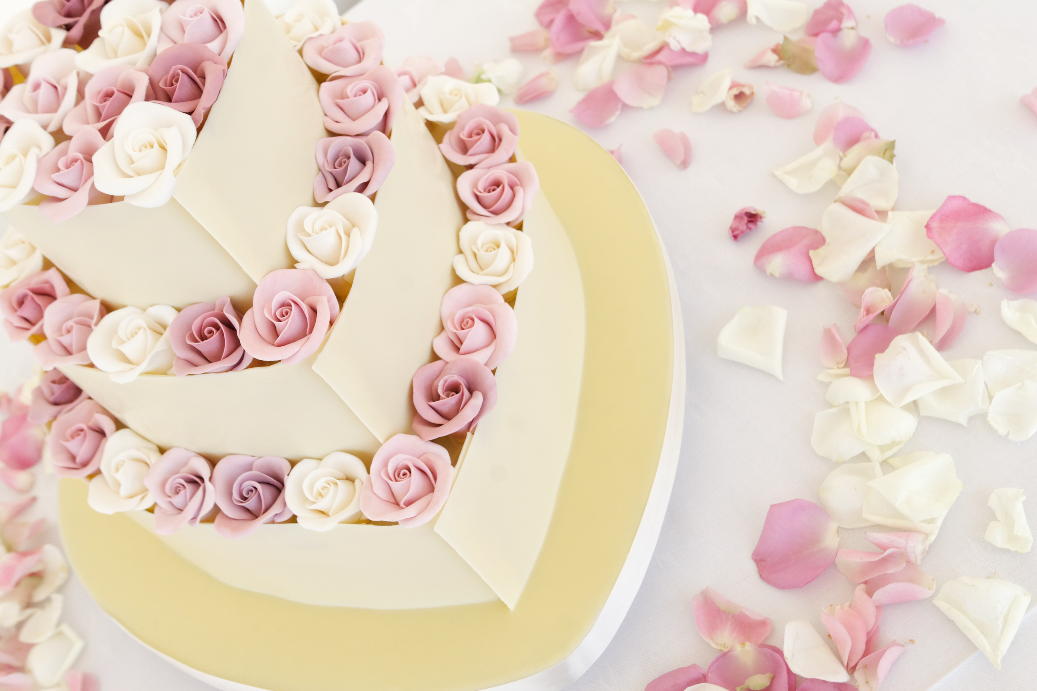 Coolwater rose chocolate cake