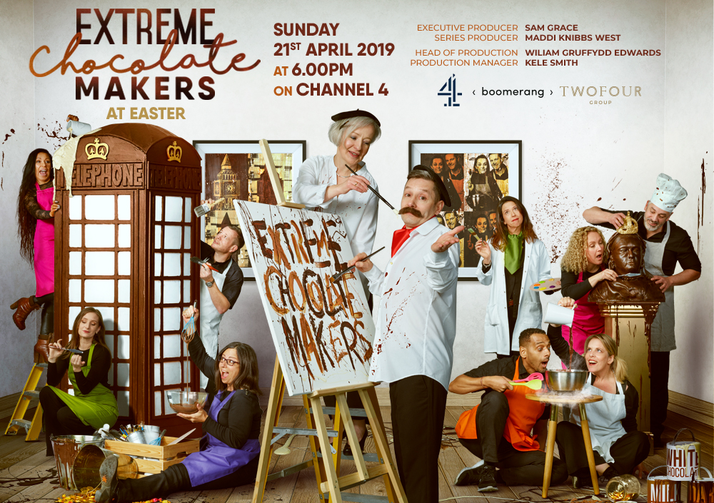 Extreme Chocolate Makers Channel 4