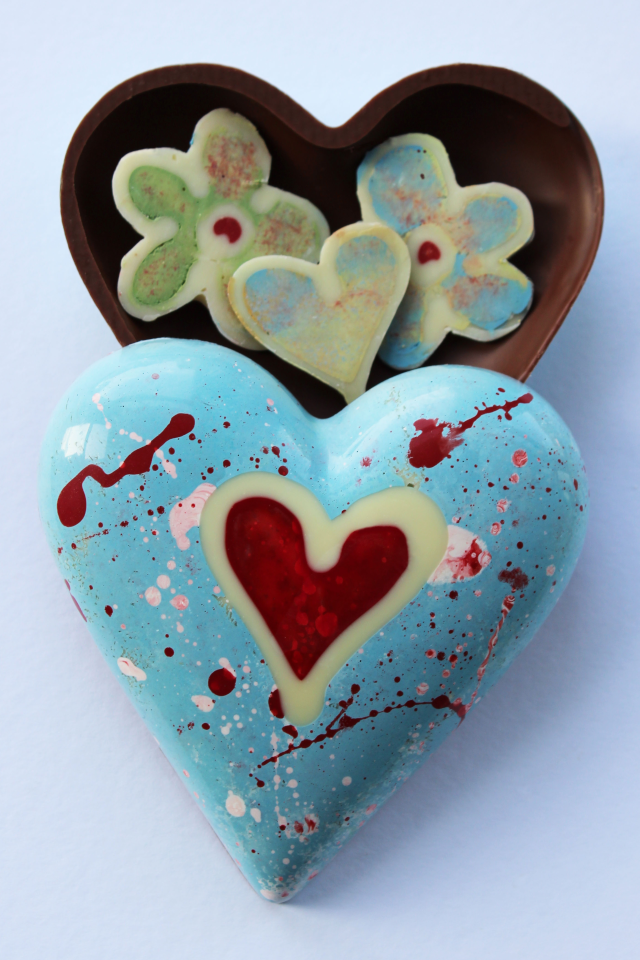Chocolate favours and gifts by Nicky Grant, Cornwall, UK