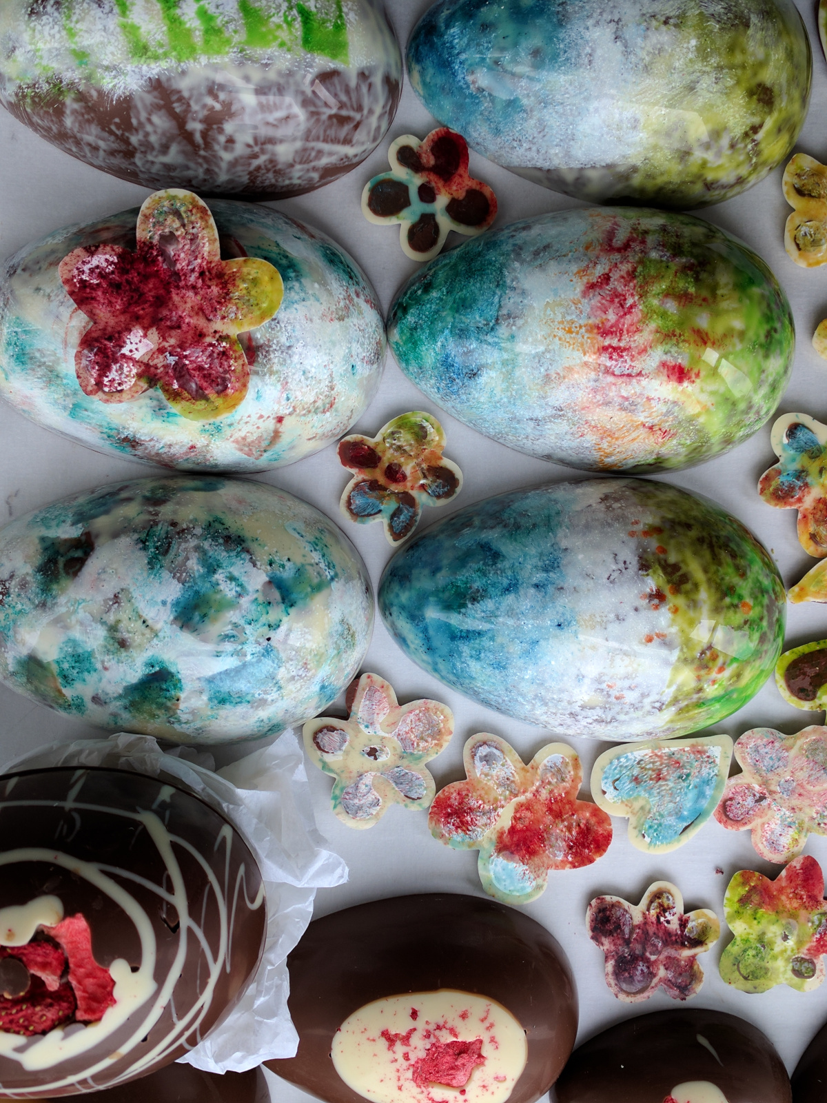 Handpainted Easter Eggs